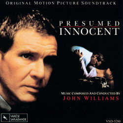 Presumed Innocent Soundtrack (John Williams) - Car�tula