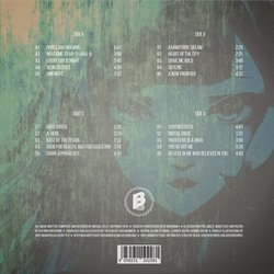 VA-11 Hall-A: Cyberpunk Bartender Action Soundtrack (Michael Kelly) - CD Back cover
