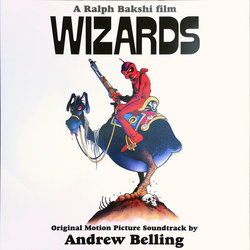 Wizards Soundtrack (Andrew Belling) - CD cover