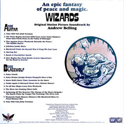 Wizards Soundtrack (Andrew Belling) - CD Trasero