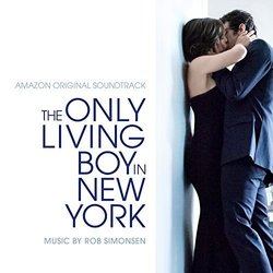 The Only Living Boy in New York Trilha sonora (Rob Simonsen) - capa de CD