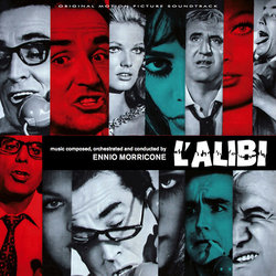 L'Alibi Soundtrack (Ennio Morricone) - CD cover