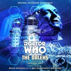 Doctor Who: The Daleks Soundtrack (Tristram Cary) - CD cover