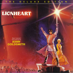 Lionheart Soundtrack (Jerry Goldsmith) - CD cover
