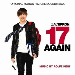 17 Again Soundtrack (Rolfe Kent) - CD-Cover