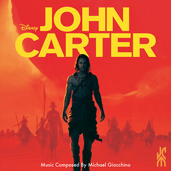 John Carter Soundtrack (Michael Giacchino) - CD cover