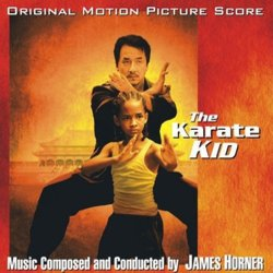 The Karate Kid / The Next Karate Kid Soundtrack (Bill Conti, James Horner) - CD cover
