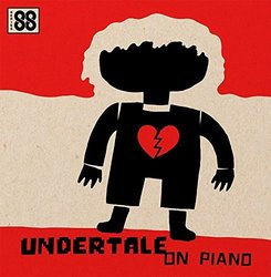 Undertale on Piano Soundtrack (Toby Fox, Augustine Mayuga Gonzales) - CD cover