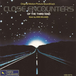 Close Encounters of the Third Kind Soundtrack (John Williams) - CD cover