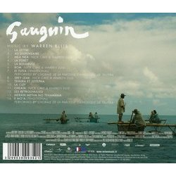 Gauguin Soundtrack (Warren Ellis) - CD Back cover