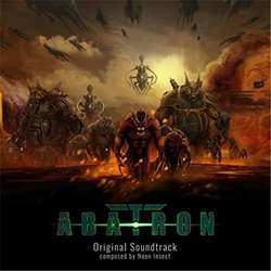 Abatron Soundtrack (Neon Insect) - CD cover