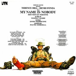 My Name is Nobody Soundtrack (Ennio Morricone) - CD Trasero