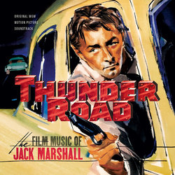 Thunder Road Soundtrack (Jack Marshall) - CD cover