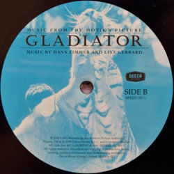 Gladiator Soundtrack (Lisa Gerrard, Hans Zimmer) - cd-inlay