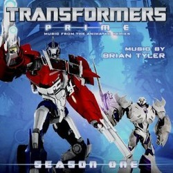 Transformers Prime Soundtrack (Brian Tyler) - Car�tula