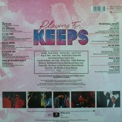 Playing for Keeps Soundtrack (Various Artists) - CD Trasero