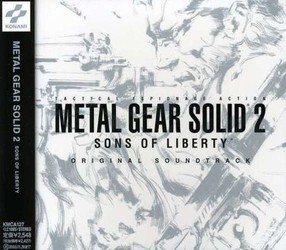 Metal Gear Solid 2: Sons of Liberty Soundtrack (Harry Gregson-Williams) - Carátula