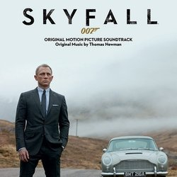Skyfall Soundtrack (Thomas Newman) - CD cover