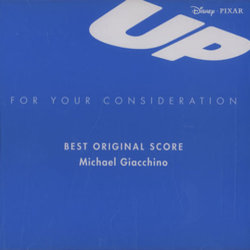 Up Soundtrack (Michael Giacchino) - CD cover