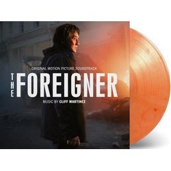 The Foreigner Bande Originale (Cliff Martinez) - cd-inlay