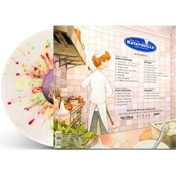 Ratatouille Soundtrack (Michael Giacchino) - CD-Inlay