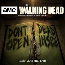 The Walking Dead Soundtrack (Bear McCreary) - CD cover