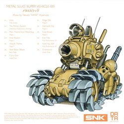 Metal Slug Trilha sonora (Various Artists, Takushi Hiyamuta) - CD capa traseira