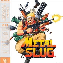 Metal Slug Trilha sonora (Various Artists, Takushi Hiyamuta) - capa de CD