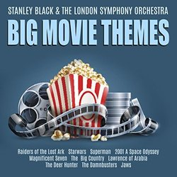 Big Movie Themes Soundtrack (Various Artists, Stanley Black) - CD cover