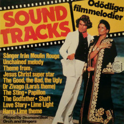 Odödliga filmmelodier Soundtrack (Various Artists, Desmond Beat orchestra and singers) - CD-Cover