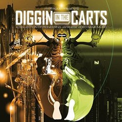Diggin In The Carts : A Collection Of Pioneering Japanese Video Game Music Soundtrack (Various Artists) - CD cover