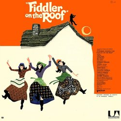 Un Violon sur le Toit / Fiddler on the Roof Soundtrack (Jerry Bock, Sheldon Harnick) - CD Trasero
