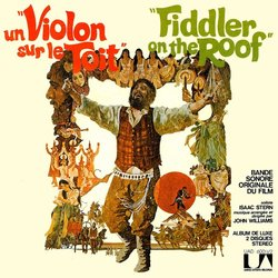 Un Violon sur le Toit / Fiddler on the Roof Soundtrack (Jerry Bock, Sheldon Harnick) - Car�tula