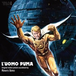 L'Uomo puma Soundtrack (Renato Serio) - CD cover