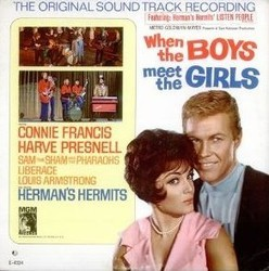 When the Boys Meet the Girls Soundtrack (Original Cast, George Gershwin, Ira Gershwin) - Car�tula