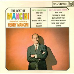 The Best of Mancini Soundtrack (Henry Mancini) - CD cover