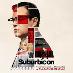 Suburbicon Soundtrack (Alexandre Desplat) - CD cover