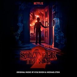 Stranger Things: Season 2 Soundtrack (Kyle Dixon, Michael Stein) - CD-Cover