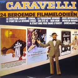 24 Beroemde Filmmelodieën Soundtrack (Various Artists) - CD-Cover