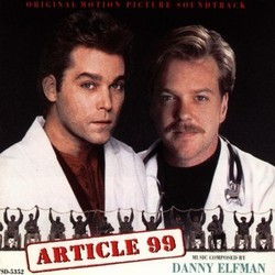 Article 99 Soundtrack (Danny Elfman) - CD cover