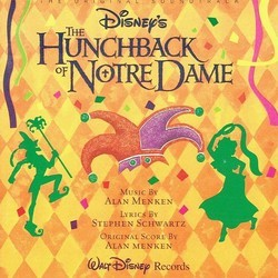 The Hunchback of Notre Dame Soundtrack (Alan Menken) - Carátula