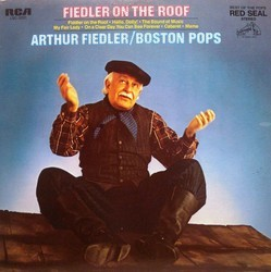 Fiedler on the roof Soundtrack (Jerry Bock, Jerry Herman, Burton Lane, Frederick Loewe, Richard Rodgers) - Carátula