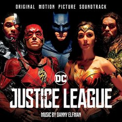 Justice League Soundtrack (Danny Elfman) - Carátula