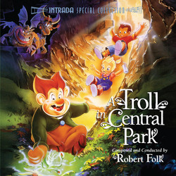 A Troll in Central Park Soundtrack (Robert Folk) - CD cover