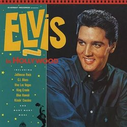 Elvis In Hollywood Soundtrack (Various Composers) - CD cover