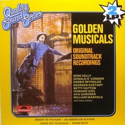 Golden Musicals Soundtrack (Irving Berlin, Arthur Freed, George Gershwin, Jerome Kern) - Car�tula