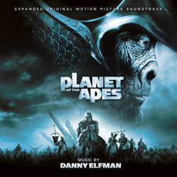 Planet of the Apes Soundtrack (Danny Elfman) - CD cover