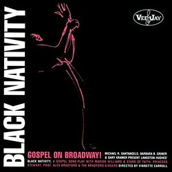Black Nativity: Gospel On Broadway! Soundtrack (Langston Hughes, Langston Hughes) - CD cover