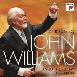 A TributeTo John Williams: An 80th Birthday Tribute Soundtrack (John Williams) - CD cover
