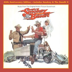 Smokey and the Bandit Soundtrack (Various Artists, Bill Justis, Jerry Reed) - CD cover